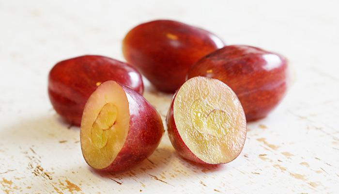皮ごと食べられるウインク葡萄