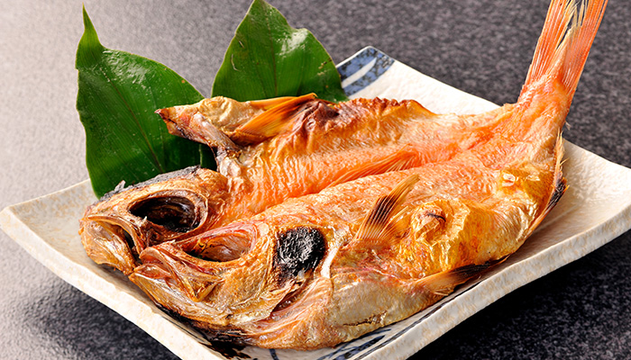 伊豆 金目鯛の干物