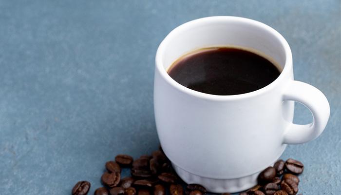 菊芋パウダーをコーヒーに