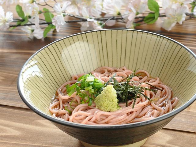 西伊豆 佐野製麺 桜蕎麦 さくらそば