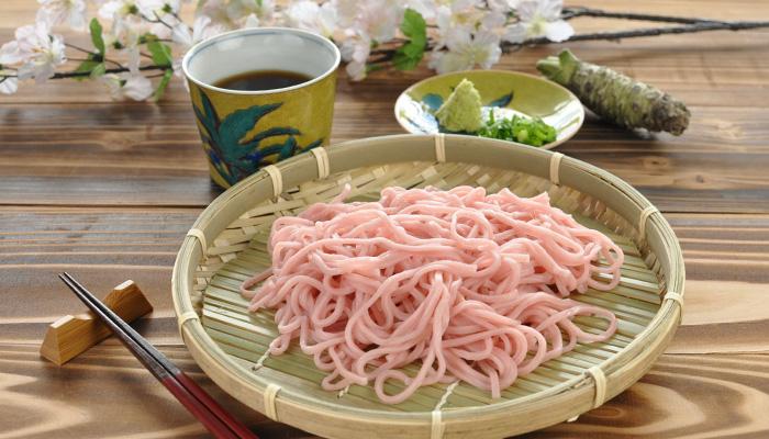 西伊豆 佐野製麺 桜蕎麦 さくらそば ざるそば
