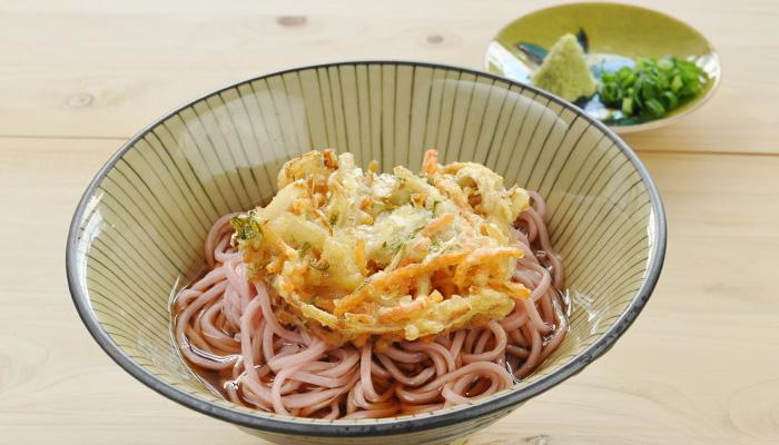 西伊豆 佐野製麺 桜蕎麦 さくらそば 天ぷら かき揚げ