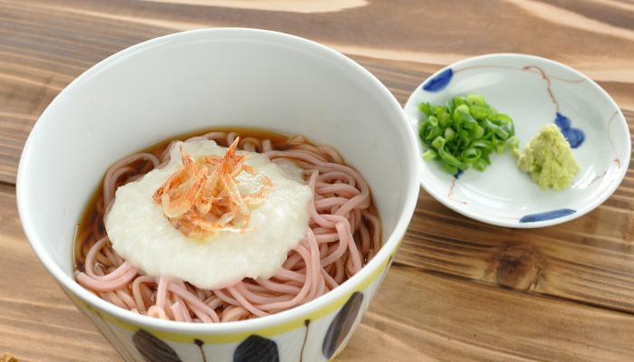 西伊豆 佐野製麺 桜蕎麦 さくらそば とろろ