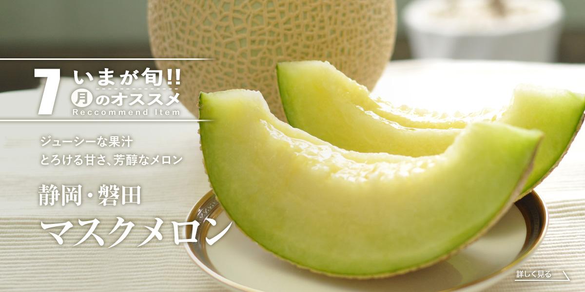 静岡・磐田 マスクメロン・アローマメロン