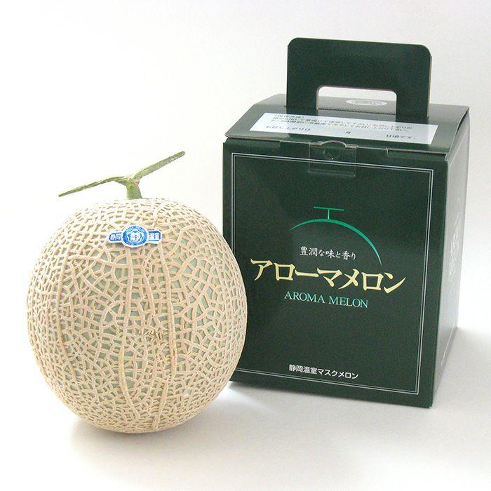 静岡マスクメロン アローマメロン 箱