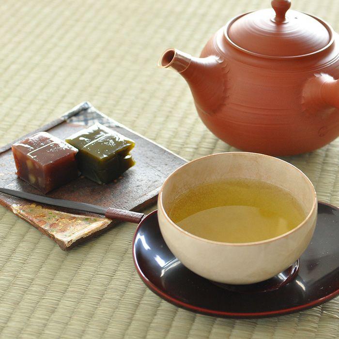 静岡茶 「深山」と羊羹 詰合せ