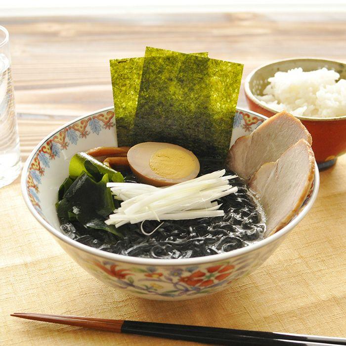 西伊豆 イカスミ入り麺の海賊ラーメン