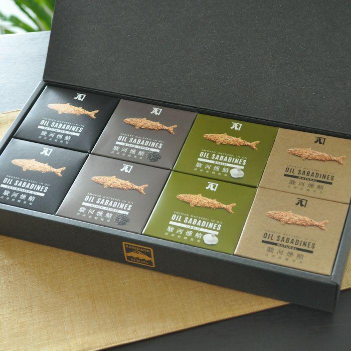 沼津 サバ缶 オイルサバディン(さば燻製油漬)